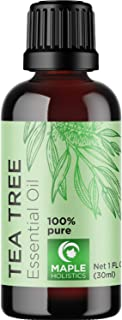 Sponsored Ad - 100% Tea Tree Oil Pure - Tea Tree Essential Oil for Skin Dry Scalp and Cuticle Oil for Nail Cleaner - 100% ...