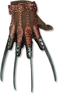 mens Freddy Krueger fleece Costume Accessory Glove
