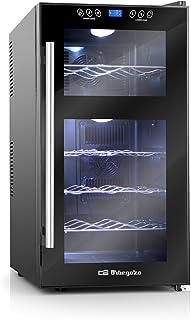comprar comparacion Orbegozo VT 1810 – Vinoteca 18 botellas, 52 litros de capacidad, temperatura regulable, panel táctl, display digital, luz ...