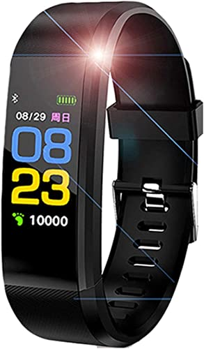 ID11501 Bluetooth Smart Fitness Band Watch for Men Women with Heart Rate Activity Tracker Waterproof Body