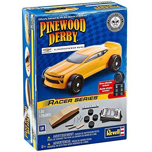 Revell 2017 Chevrolet Camaro SS Pinewood Derby Racer Series Car Kit RMXY9453