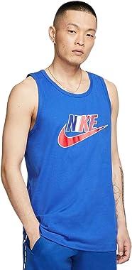Nike Sportswear Men's Futura Icon Tank Top Sleeveless Shirt (Blue, Medium)