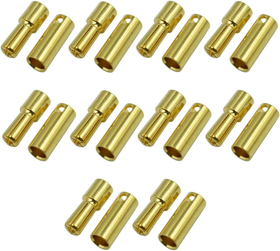Hxchen 5.0mm Male Female Banana Replacemen Bullet Max 62% Finally resale start OFF Connector Plug