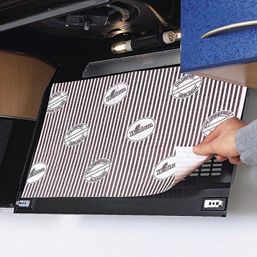 Flachfettfilter für Dunstabzugshauben 47x57cm, 6 Filter