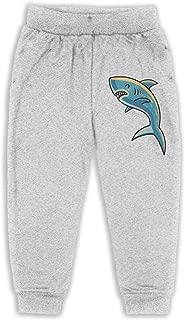 Kids & Toddler Pants Soft Cozy Baby Sweatpants Kawaii Cute Shark Fleece Pants Athletic Pants