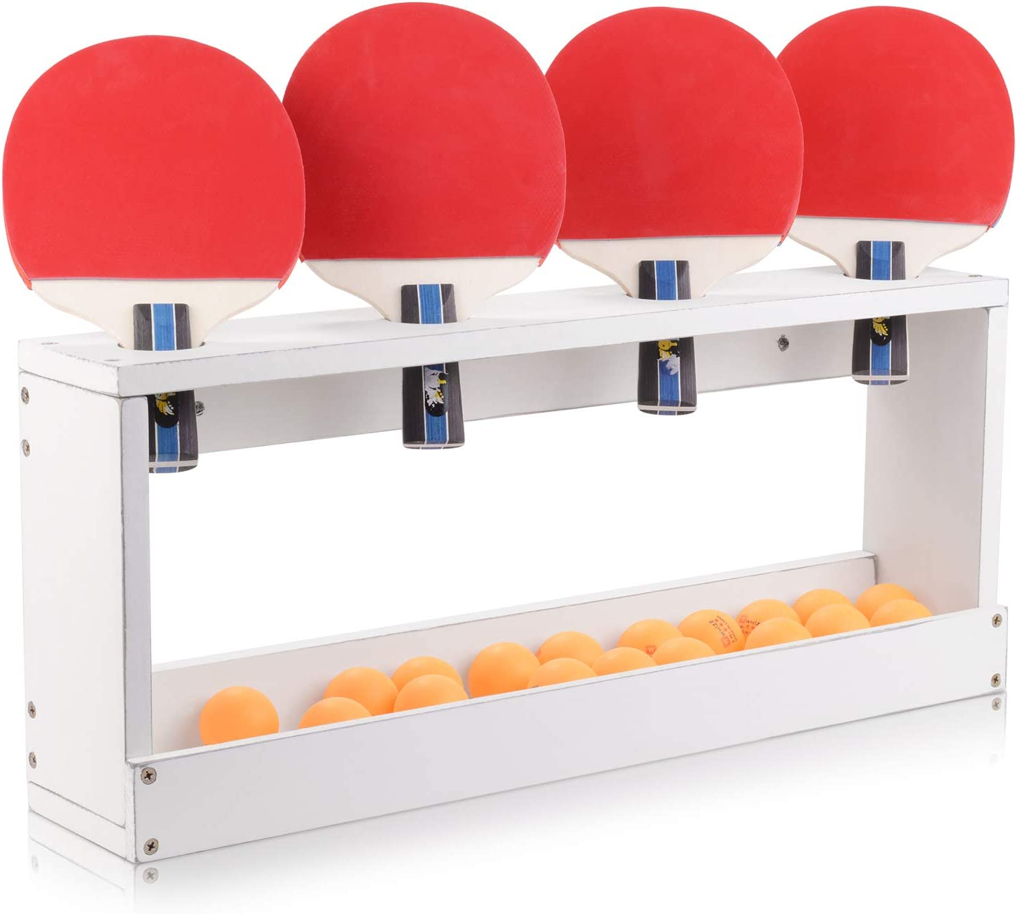 ikkle Ping Pong cheap Paddle Storage Racket Table San Diego Mall Tennis Display Rack