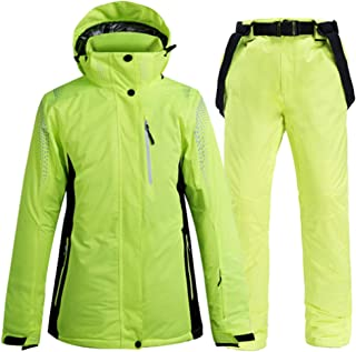 Ski Jackets and Pants Men and Women Very Warm Windproof Waterproof Snowboarding Sets Snow Outdoor Winter