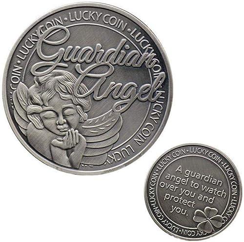 Glücklicher Engel Münze Sammlermünzen Sammlerstück Medaille Sammlung Antik Zum Sammeln Geschenk 50Pcs