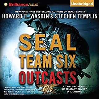 SEAL Team Six Outcasts cover art