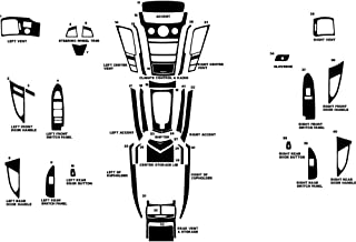 Rdash Dash Kit Decal Trim for Cadillac CTS 2008-2013 - Wood Grain (Burlwood Dark)