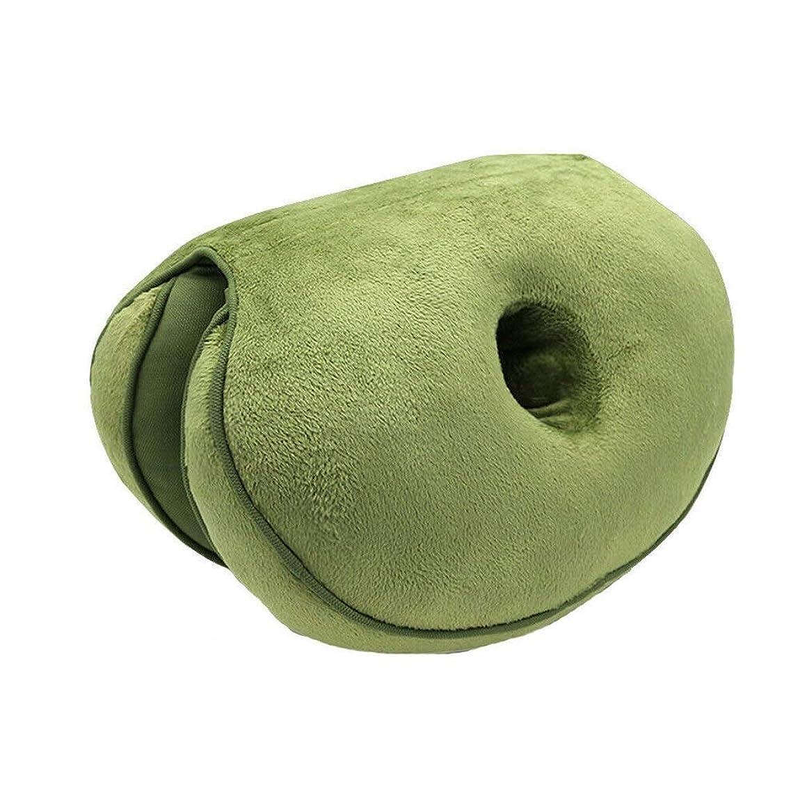 マディソン事業内容交換LIFE 新デュアルシートクッション低反発ラテックスオフィスチェアバックシートクッション快適な臀部マットパッド枕旅行枕女性女の子 クッション 椅子