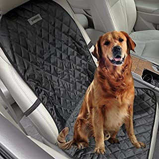 Aomaso Cubierta Antideslizante para Mascotas en Butaca de Automóvil, Ajusta a Automóviles, Camionetas y SUV, Incluye Siste...