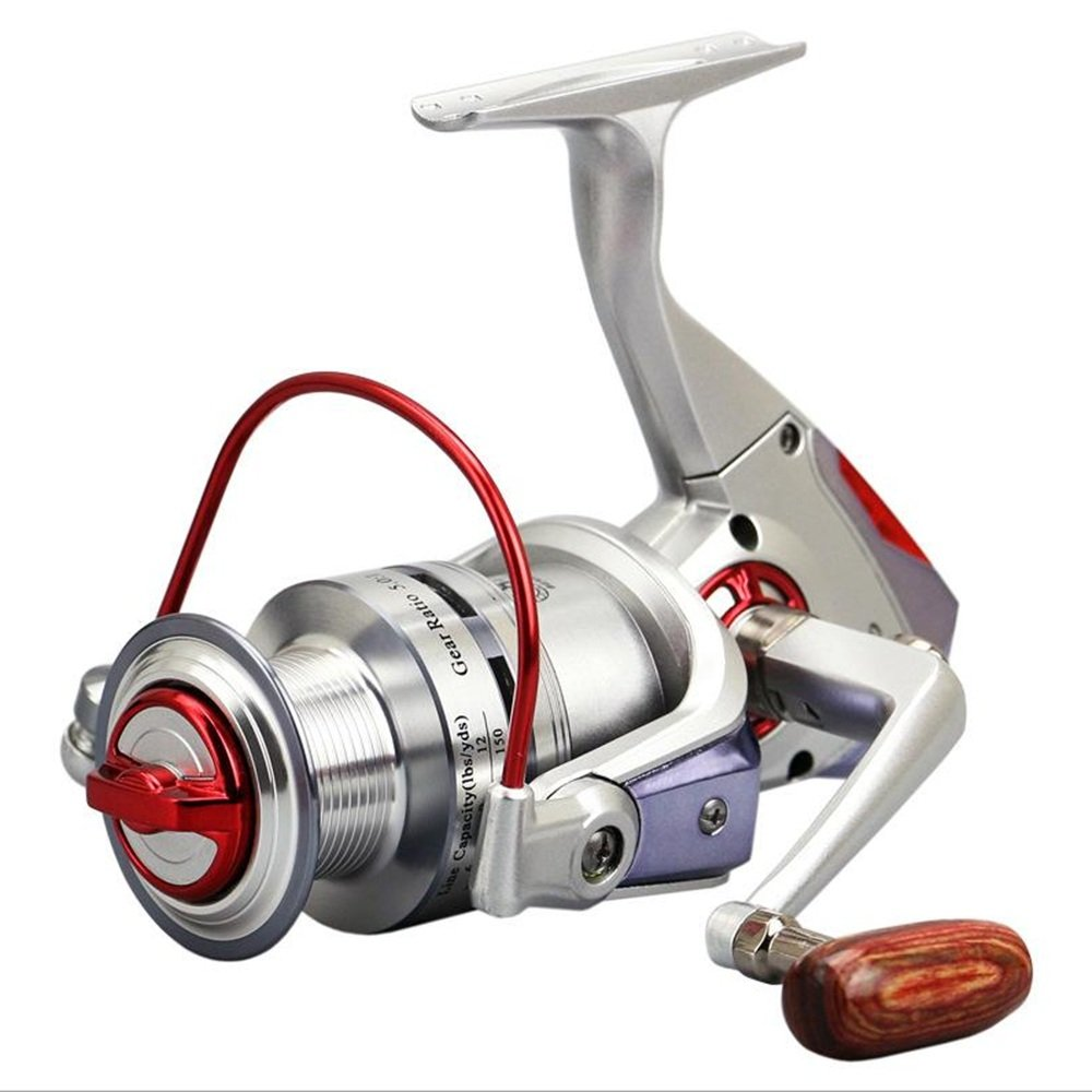 Spinning Fishing Reel 8 + 1 Bearings Left Right Manija ...