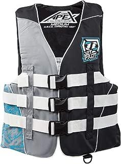 Apex Nylon Vest Turquoise Womens Medium PFD Waterski Wakeboard Life Jacket