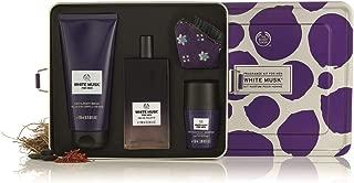 The Body Shop White Musk Men's Fragrance Gift Tin