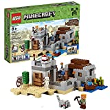Lego Year 2015 Minecraft Series Set #21121 - THE DESERT OUTPOST with Boat,...