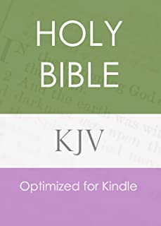The Holy Bible, King James Version (KJV) with Search Every Verse Navigation