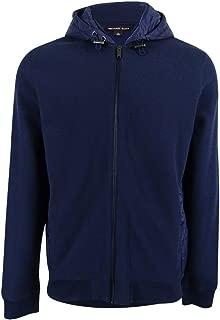 Michael Kors Mens Quilted Hoodie Sweatshirt