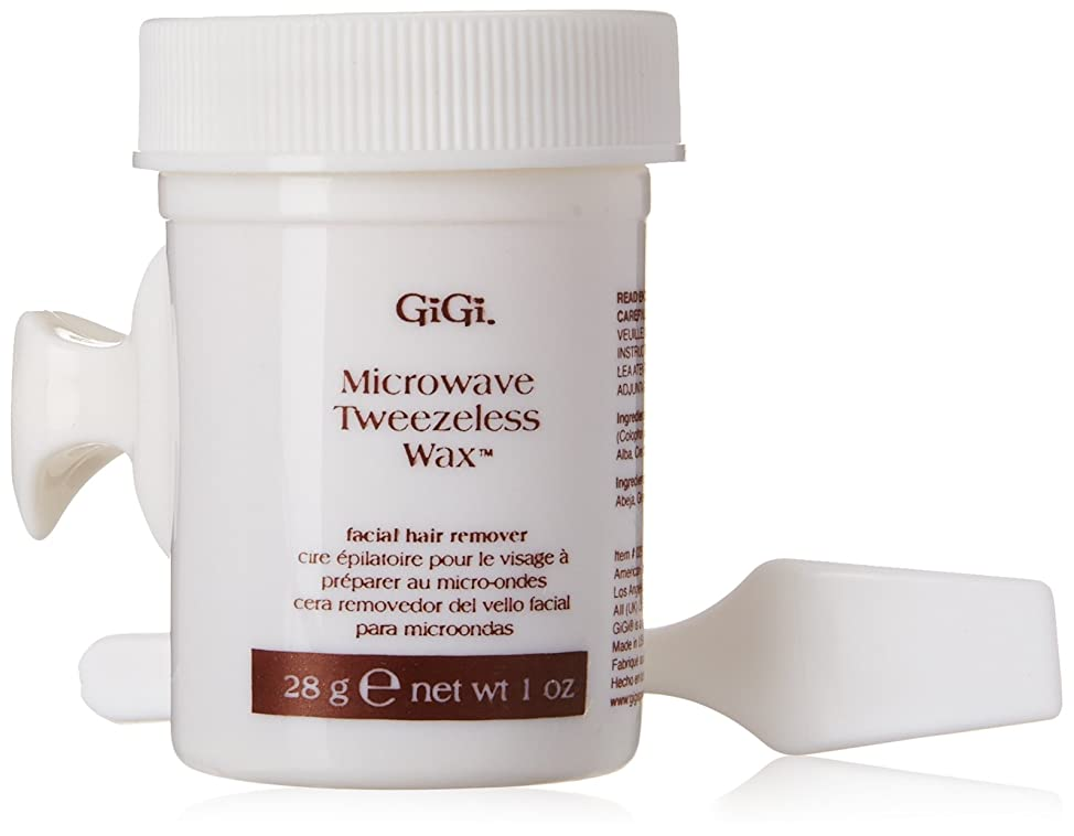 うめき声シネマ連隊GiGi Tweezeless Wax Microwave Formula 1 oz. (並行輸入品)