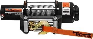 Mile Marker PE5000(es) UTV/Side-By-Side Premium Sealed Electric Winch - 5,000 lb. Capacity [並行輸入品]