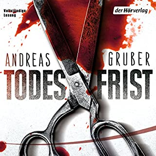 Todesfrist     Sneijder & Nemez 1              By:                                                                                                                                 Andreas Gruber                               Narrated by:                                                                                                                                 Achim Buch                      Length: 12 hrs and 41 mins     2 ratings     Overall 4.5
