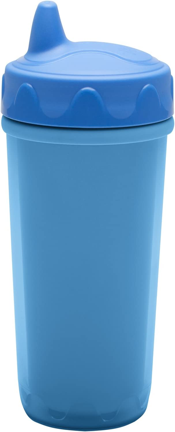 Zak Designs Toddlerific Blue Perfect Flo Max 68% OFF High order Toddler Double Cup Wa