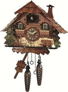 Engstler Reloj cucú de cuarzo Casa de la selva negra EN 414 Q