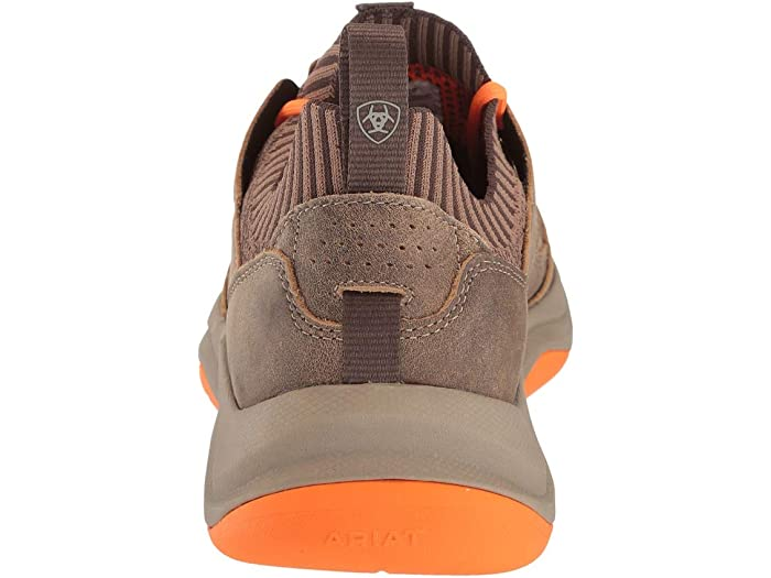 Ari Country Mile Brown Bomber/orange Sneakers & Athletic Shoes
