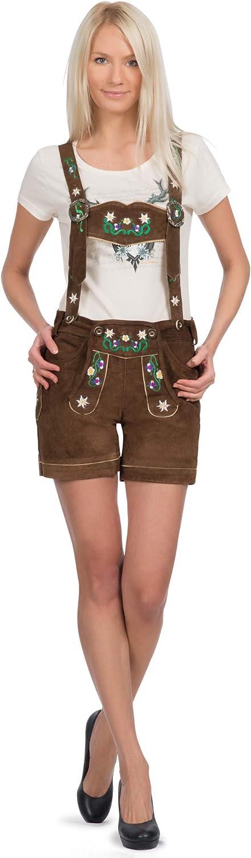 Gaudi-Leathers Women's German Trachten Short Lederhosen Las Vegas Limited time cheap sale Mall Trousers