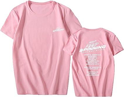 SERAPHY T-Shirt Unisexe Kpop GOT7 T-Shirts 2019 World Tour Keep Spinning Supporting Top Tees Jackson Bambam Mark Shirts