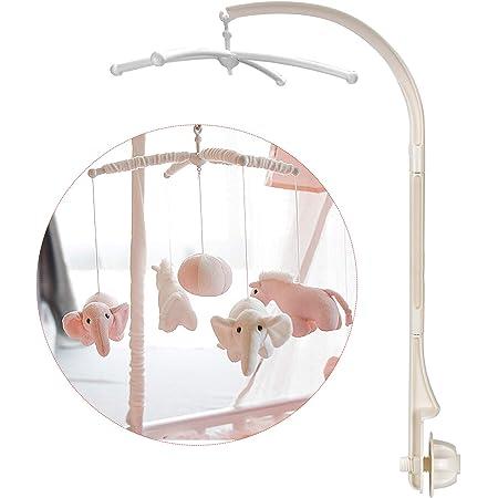DESON Support de mobile bébé, Lit bébé Mobile, Potence Mobile Bébé Sans Jouets Et Sans Module Boîte à Musique
