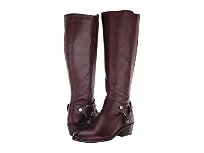 Frye Carson Harness Tall (Plum Extended) Women