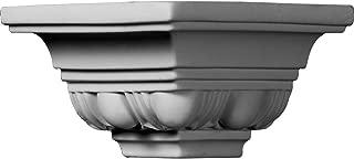 Ekena Millwork MOC03X02EG  3 1/8-Inch P x 2 3/4-Inch H Outside Corner for Molding MLD02X03X04EG