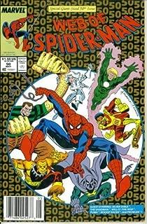 Web of Spider-Man #50 : Guest Starring Sandman in