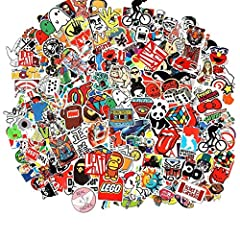 Random sticker pack you will get a random 105pcs sticker pack about your purchased quantity from our store. All the stickers will be different. Sticker size will be 6-10cm and well packed. All the Stickers are 100% Brand New and made with high qualit...