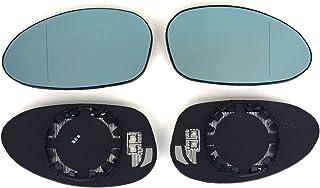 Achtung passt nur bis Facelift 09/2008, DANACH Nicht MEHR!!! Pro!Carpentis kompatibel mit E90 E91 E81 E87 Spiegel Spiegelglas Links + rechts 2er Set beheizt Ersatzglas für elektrische Außenspiegel
