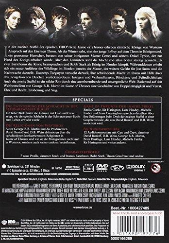 Game of Thrones – Die komplette zweite Staffel [5 DVDs] - 2