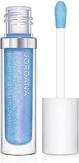 JORDANA Cosmic Glow Holographic Lip Gloss - Galactic Blue