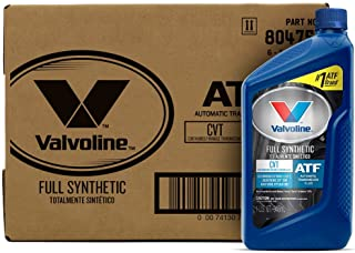 Valvoline CVT Full Synthetic Continuously Variable Transmission Fluid 1 QT, Case of 6