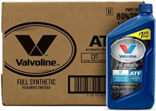 Best Valvoline CVT Full Synthetic Continuously Variable Transmission Fluid 1 QT, Case of 6 Review