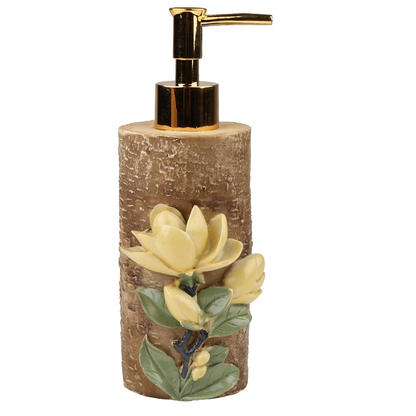 うつ節約する航海空 詰め替え ポンプ 瓶 シャンプー ボディークレンザー 液体石鹸などローション適用 全4種類 - #4