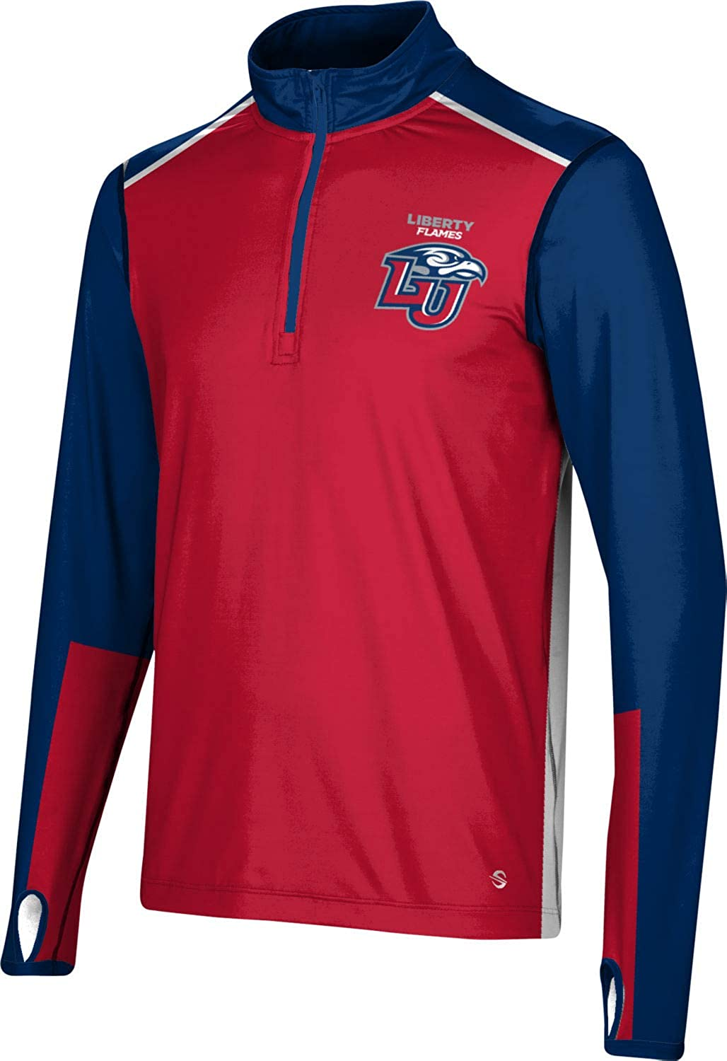 ProSphere Animer and price revision Popular Liberty University Men's Quarter Zip Sleeve Cou - Long