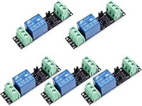 Onyehn 1 Channel DC 3V Relay High Level Driver Module Optocoupler Relay Module Isolated Drive Control Board for Arduino (Pack of 5)