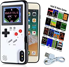 Gameboy Case for S10, Retro S10 Case with 36 Small Games, Color Display Game Case for Samsung S10