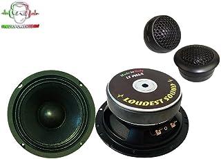 Kit SPL 2 vie 16cm Mid Woofer LOUDEST SOUND + Tweeter GROUND ZERO per predisposizioni auto 165 mm alta efficienza 16 cm