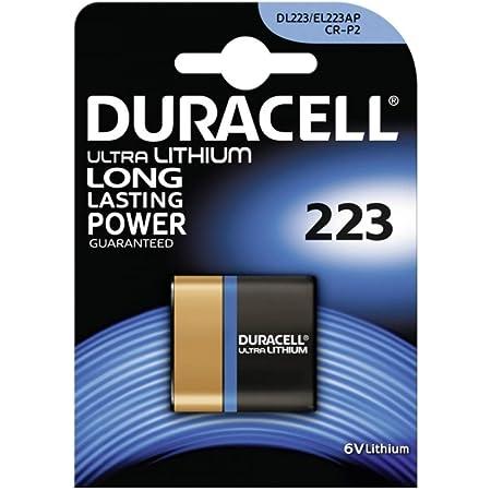 Foto Batterie Duracell Ultra M3 Typ 223 1er Blister Computer Zubehör