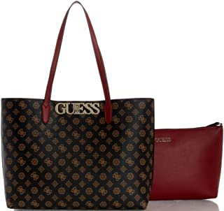 GUESS Womens Tote Bag, Brown/Multicolour - SP730123