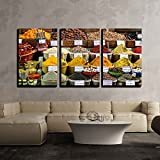 wall26 - 3 Piece Canvas Wall Art - Scenery - Modern Home Decor Stretched and Framed Ready to Hang