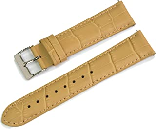 CASSIS AVALLON Alligator Grain Embossed Calf Watch Strap 20mm with Tool