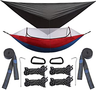 Best backpacking hammock with rainfly and mosquito net Reviews